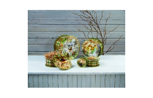 HEAVEN AND NATURE NESTING BOXES SET OF 5