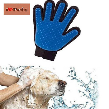 iPets™ Magic Touch Five Finger Deshedding Glove - $13.99 With FREE Shipping!